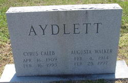 Augusta Walker Aydlett