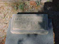 Grace Elizabeth <i>Avery</i> Bloodworth