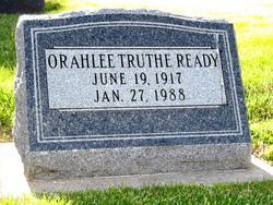 Orahlee Truthe <i>McCord</i> Ready