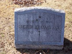 Gertrude Anna Ande