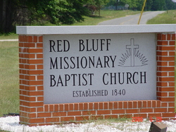 Red Bluff Baptist Church Cemetery