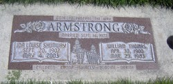Ida Louise <i>Shumway</i> Armstrong