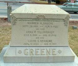 Anna P. <i>Tillinghast</i> Greene