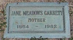 Jane Ursula <i>Meadows</i> Garrett