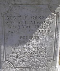 Susie E. <i>Cassell</i> Dearborn