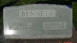 Marion F Mooch Bennett
