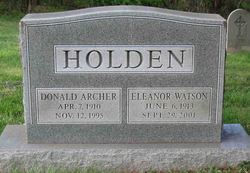 Donald Archer Holden