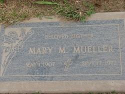 Mary Mae <i>Welsh</i> Mueller