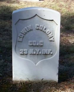 Pvt Edwin Colony