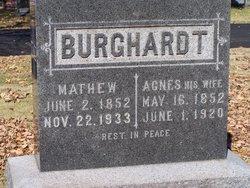 Agnes <i>Kisner</i> Burghardt