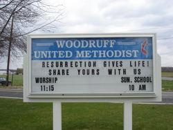Woodruff United Methodist Church Cemetery