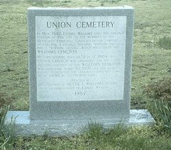 Union-Williams Cemetery