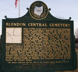 Blendon Central Cemetery