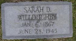 Sarah E. <i>Dilday</i> Willoughby