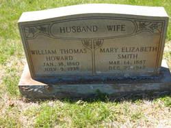 Mary Elizabeth <i>Smith</i> Howard