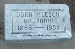 Dora <i>Heesch</i> Baumann