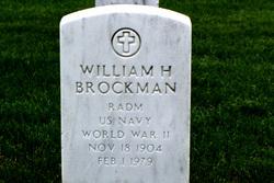 Adm William Herman Bill Brockman, Jr