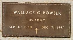 Wallace O. Bowser
