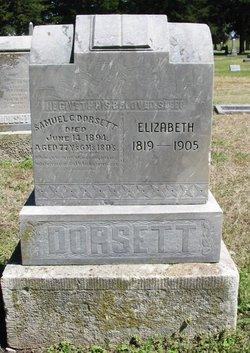 Elizabeth <i>Walker</i> Dorsett