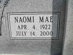 Naomi Mae Cawlfield