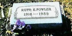 Ruth E. <i>Phillips</i> Fowler