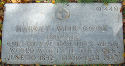 Col Harvey Weir Cook