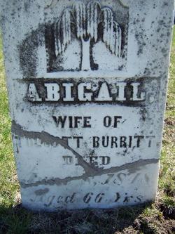 Abigail <i>Whitlock</i> Burritt
