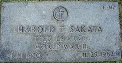 Harold T. Sakata