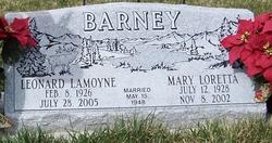 Mary Loretta <i>McLain</i> Barney