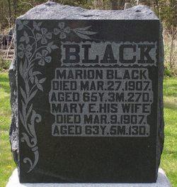 Mary E <i>Rowden</i> Black
