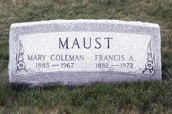 Mary <i>Coleman</i> Maust