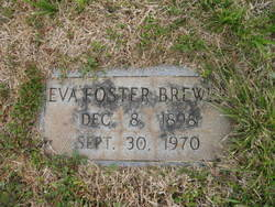 Eva <i>Foster</i> Brewer