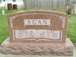 Ethel Mae <i>Liggett</i> Agan