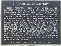 Oklahoma Cemetery