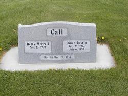 Omer Justin Call