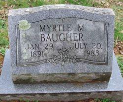 Myrtle Mary <i>Comer</i> Baugher