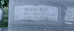 Pansy Rae Abee