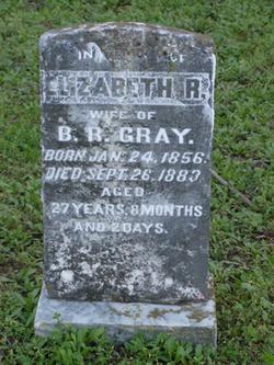 Elizabeth Rogers <i>Stribling</i> Gray