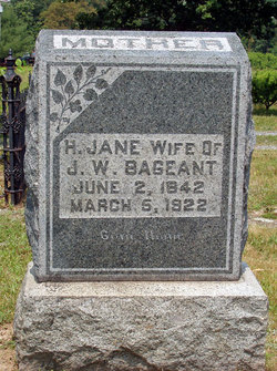 Harriett Jane <i>Bohrer</i> Bageant