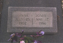 Anna Virginia <i>Hornbaker</i> Jones