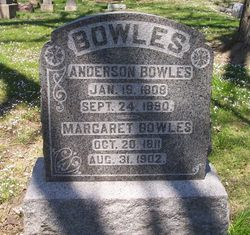 Margaret Ann <i>Carter</i> Bowles