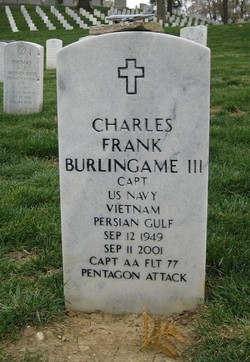 Capt Charles Frank Chic Burlingame, III