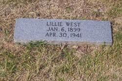 Lillie Elizabeth <i>Reese</i> West