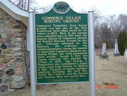Commerce Village Burying Ground