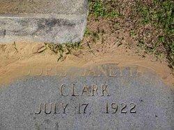 Doris Janetta Clark