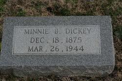 Minnie B. Dickey