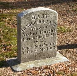 Mary Arnold <i>Howland</i> Knight