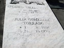 Gregorio Toledo-Velez