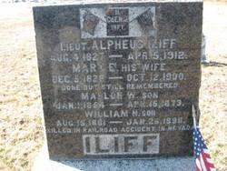 Mary E <i>Philhower</i> Iliff