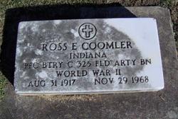 Ross E. Coomler
